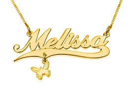 plated name necklace thickness gold plated name necklace with gold plated pendant