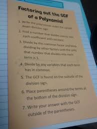 math u003d love factoring out the gcf of a polynomial foldable