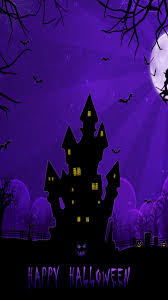 halloween wallpapers for android phone halloween castle wallpaper sc smartphone