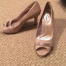 Dexflex Comfort Flats 83 Off Dexflex Comfort Shoes Like New Peep Toe Pumps From
