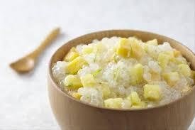 cuisiner avec du lait de coco recette de perles de tapioca au lait de coco et fruits exotiques