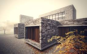 modern nice design modern houses with stone with stone wall and modern elegant design modern houses with stone with wooden door can add the elegant touch inside