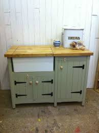 free standing kitchen sink units handmade freestanding butler belfast kitchen sink unit solid oak for