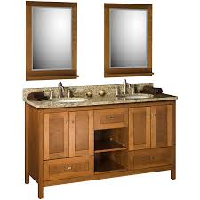 fresh beadboard bathroom vanity cherry 10000