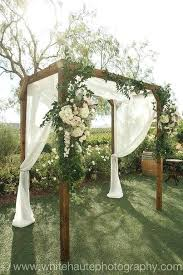 wedding arbors decorated wedding arbors winery rustic wedding arch more decorated