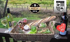 Wine Picnic Basket Jane Brook Estate Wines Perth Groupon