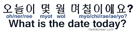 Which Date Is What Is The Date Today Fresh Korean