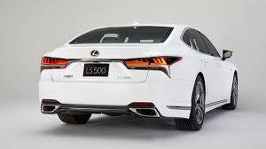 lexus old models 2018 lexus ls 500 f sport is a more aggressive luxury sedan