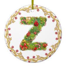 initial z ornaments keepsake ornaments zazzle