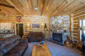 four ways to make use of interior log siding