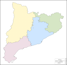Catalonia Spain Map by Catalonia Free Map Free Blank Map Free Outline Map Free Base