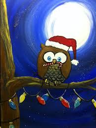 owl christmas christmas owl à la carte