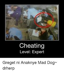 Level Meme - cheating level expert greget ni anaknye mad dog drherp meme on