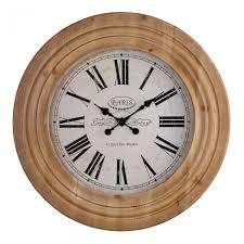 paris wall clock accessories oak furniture land