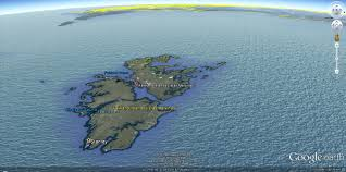South America Satellite Map by Falkland Islands Map South America