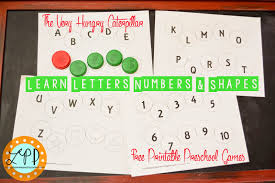 the very hungry caterpillar preschool games letters numbers