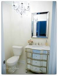 powder room vanity cabinets the many wall treatment options for the powder room classy glam living