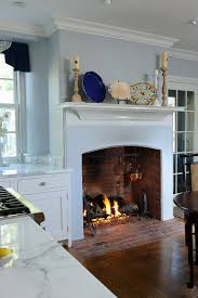 Kitchen With Fireplace Designs by Trends Give Your Kitchen A Sizzling Makeover With A Fireplace