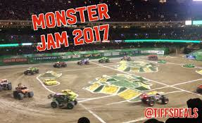 what time is the monster truck show tiff u0027s deals nola and national savings monster jam 2017 in new