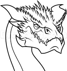 free coloring pages of dragons how to draw smaug easy step by step dragons draw a dragon