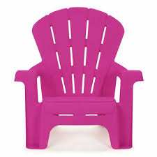 chair bright pink