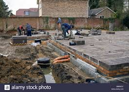 Build A New House The First Stage Of Building A New House Footing Stock Photos U0026 The