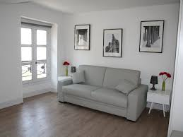 large 33sq meter studio with a spacious living room separated from