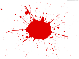 red paint red paint splatter psdgraphics