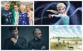 from frozen to doctor who your day by day christmas tv highlights