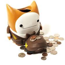 his and piggy bank cat guard piggy bank the behemoth store