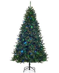 led christmas tree 7 5 pre lit color changing led christmas tree
