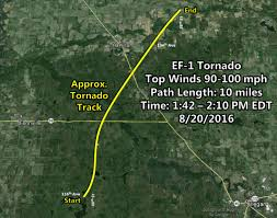 Radar Map For Michigan by Six Tornadoes In West Michigan View Tornado Maps Radar More