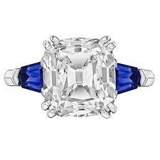 5 Carat Cushion Cut Engagement Rings Betteridge 5 02 Carat Cushion Old Mine Cut Diamond Engagement Ring