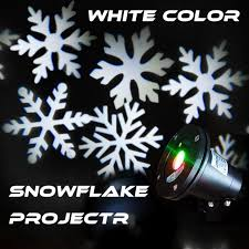 christmas snowflake christmas lights indoor outdoor projector