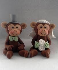 monkey wedding cake topper wedding cakes pinterest wedding