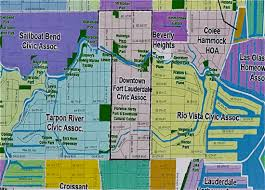 map of ft lauderdale boundary map downtown fort lauderdale civic association