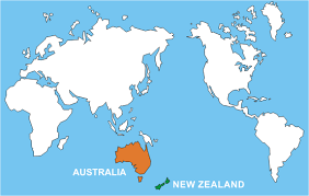 map world nz anzac day part 1 australia and new zealand the anzac connection