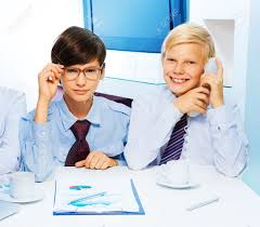 two smart in the office to be and adults and