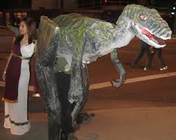 velociraptor costume when gives you empty pizza boxes make a velociraptor