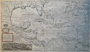 Map Of West Indies Maps Perhaps Antique Maps Prints And Engravings A Map Of The