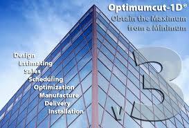 optimumcut software for curtainwall windows doors shopfront