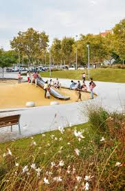 green space in badalona on architizer
