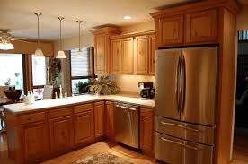 Diy Wood Kitchen Countertops Diy Ideas For Kitchen Cabinets Dark Brown Granite Flooring And