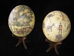 painted ostrich eggs painted ostrich eggs more inspiration craft ideas