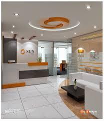 dubai office reception design proposal for one of mhi design