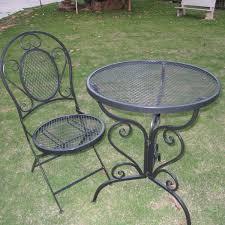 Shabby Chic Patio Furniture selling shabby chic black metal mesh patio furniture buy