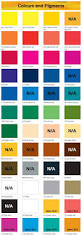 daler rowney graduate acrylic 500ml color chart acrylic