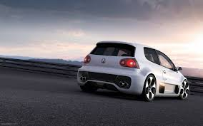volkswagen golf custom volkswagen golf gti w12 650 widescreen exotic car picture 007 of
