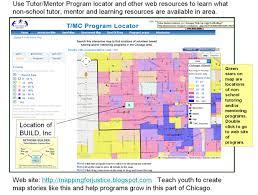 Pink Line Chicago Map by Tutor Mentor Institute Llc October 2015