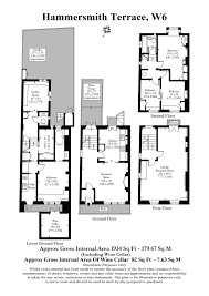 property floor plans 4 bedroom property for sale in hammersmith terrace hammersmith